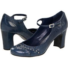 Blue mary janes!