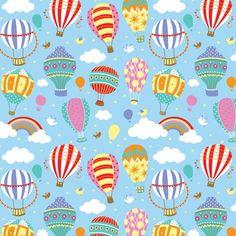 Balloon Illustration, Pattern Illustration, Kids Patterns, Print Patterns, Whatsapp Wallpaper, Kids Prints, Textile Patterns, Textiles, Surface Pattern Design
