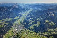 Ennstal bei Schladming / Steiermark Austria, Memories, Mountains, Places, Classic, Water, Travel, Outdoor, Viajes