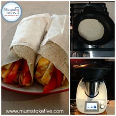 Gluten and Dairy Free Thermomix Wraps Recipe