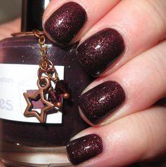 The Phantom glitter nail polish 15 mL .5 oz by TheLadyVarnishes, $9.00