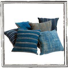 Rough Luxe Lifestyle vintage indigo textile love