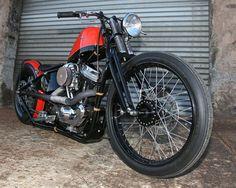 1999 Harley Davidson Sportster 1200-C Nightster converted to a Bobber.