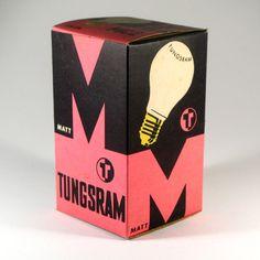 Vintage lightbulb pack Pinned for FarOut www.faroutny.com, @faroutny #faroutny Packaging Inspiration, Packaging Design, Graphic Design, Packaging, Design