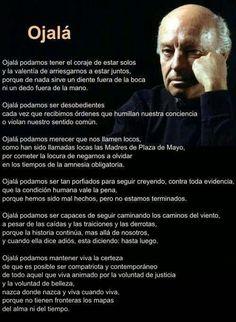 G A N T I L L A N O: OJALÁ - Eduardo Galeano lo mejor de lo mejor ❤️
