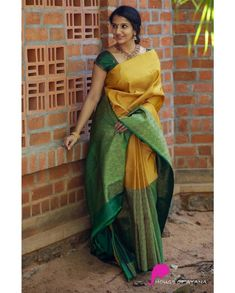 Check out these amazing royal latest silk sarees that you really can't afford to miss. Kanjivaram Sarees Silk, Indian Silk Sarees, Soft Silk Sarees, Indian Beauty Saree, Phulkari Saree, Mysore Silk Saree, Kanchipuram Saree, Half Saree Designs, Silk Saree Blouse Designs