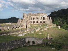 San Souci Palace in Haiti.
