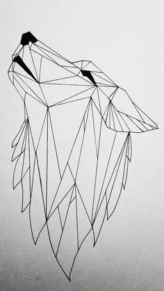 Geometric wolf by koolio1715 on DeviantArt | THE UT.LAB | Geometric Tattoos *