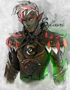 GW2 Sylvari by Nilsyy on DeviantArt