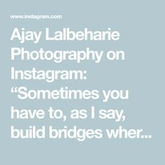 """Ajay Lalbeharie Photography on Instagram: """"Sometimes you have to, as I say, build bridges where you can, but draw lines where you must. ~ Fred Thompson ~ #newcastlesouthafrica…"""" News South Africa, Fred Thompson, New South, I Said, You Must, Bridges, Draw, Sayings"""