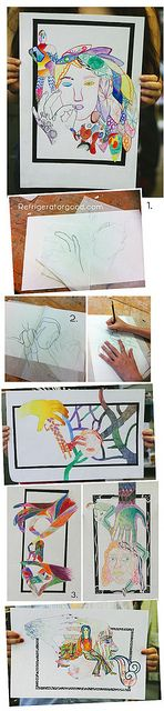 art 1 project idea - portraiture / figure drawing
