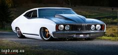 Aussie Ford Falcon. This this is one sick lookin machine!!!
