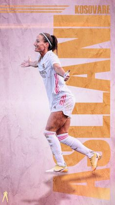 Real Madrid Fem's first ever signing, goal scorer and now, our top goal scorer, Kosovare Asllani