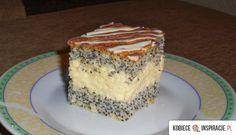 mazurek makowo-kokosowy  http://kobieceinspiracje.pl/16432,mazurek-makowo-kokosowy.html