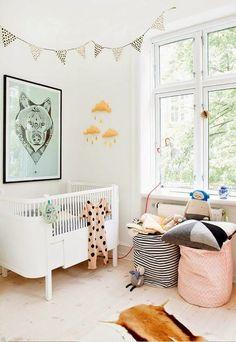 Skandinavisch, Kinderzimmer Deko Ideen, Modernes Kinderzimmer, Kinderzimmer  Einrichten, Kinder Spielzimmer, Kinderbett