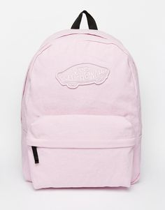 Vans+Realm+Backpack+in+Pink