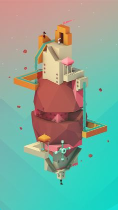 Art and other creativeness by fans of the game Monument Valley.