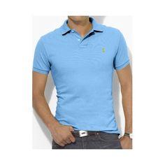 Polo Ralph Lauren Custom Fit Bleu ciel