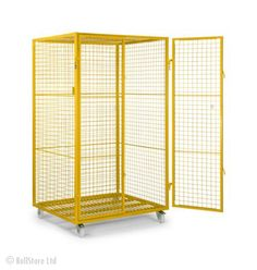 RollStore » Product Catalogue » Bespoke Roll cages » Large Parcel Roll cage | Roll Cages, Shopping Trolleys, Warehouse Picking Steps, Hypacage, Laundry Roll Containers, Pallet Trucks, Nylon Retention Straps, Garment Rails, Suite Carriers