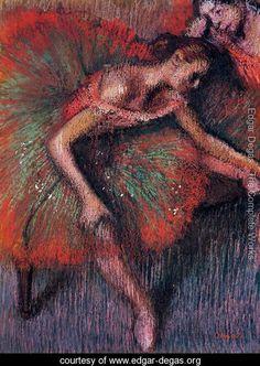 Dancers 4    Edgar Degas