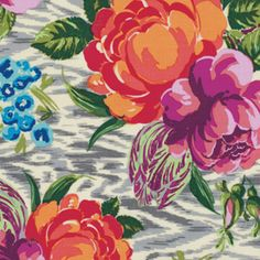 Amy Butler - Hapi - Tapestry Rose in Linen...we be a beautiful large canvas or tapestry :)