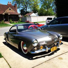 Image may have been reduced in size. Click image to view fullscreen. Volkswagen Karmann Ghia, My Dream Car, Dream Cars, Vintage Cars, Antique Cars, Porsche Sports Car, Bus Ride, Vw Beetles, Sport Cars