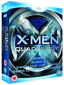X-Men Quadrilogy (Blu-ray) Four feature-length action adventures based on the Marvel comic strip. In X-Men (2000) mutants Charles Xavier (Patrick Stewart) and Magneto (Ian McKellen) are former friends but look set to become mor http://www.MightGet.com/january-2017-12/x-men-quadrilogy-blu-ray-.asp
