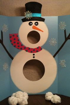 Family Friendly Party Games kids christmas party ideas - Bing Images Website does not go to pattern!kids christmas party ideas - Bing Images Website does not go to pattern! Snowman Games, Snowman Party, Diy Snowman, Winter Fun, Winter Christmas, Winter Games, Christmas Snowman, Winter Theme, Country Christmas