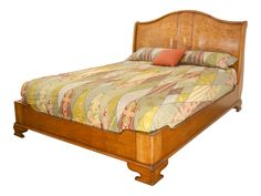 Hampton Walnut Sleigh Bed with low footboard Walnut Bedroom Furniture, Barrel Furniture, Her Wallpaper, Antique White Paints, French Bed, Sleigh Beds, Bed Frame, The Hamptons, Just In Case