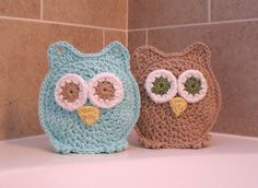 Think I might try to make these, $20.00 is way to pricey!  owl washcloths