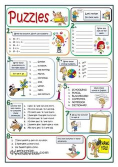 A very simple worksheet for the very beginners or to be used as a cooler in September. Its goal is revising basic contents: the week, numbers and dates, prepositions or correcting mistakes. Here you are more similar puzzles:https://en.islcollective.com/resources/printables/worksheets_doc_docx/more_puzzles/adjectives-opposites/81434 - ESL worksheets