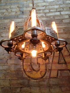 vintage chandelier-redesigned.  by Mark Bell.