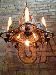 vintage chandelier-redesigned.  by Mark Bell.
