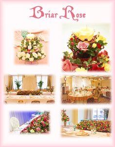 Briar Rose - Tokyo Disneyland Wedding Themes