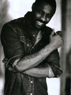 Idris Elba..sexy..