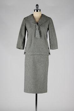 Vintage 1960's Suit .  wool