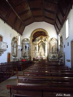 Interior da Igreja da Freguesia de Valmaior - Portugal