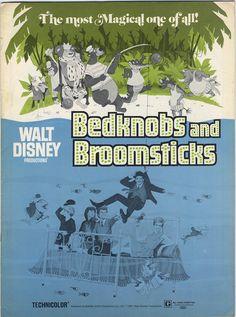 Walt Disney Bednobs and Broomsticks Advertising Pack 1971