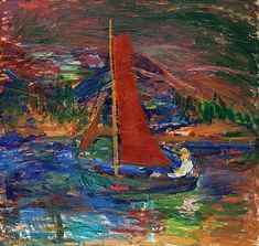 "IVAN IVARSON, ""Skymning"" (Twilight). Signed I Ivarson. Canvas 100 x 105 cm.. - Spring Modern Auction, Stockholm 560 – Bukowskis"