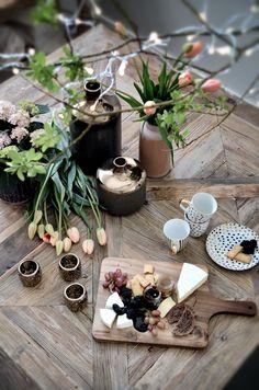 Beautiful table setting <3