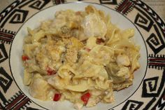 Escalloped Chicken and Noodles