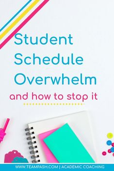 Let's Chat Student Overwhelm and Overscheduling! What were we thinking? — Team Pasch Academic Coaching