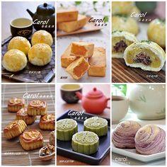 Carol 自在生活 : 中秋月餅糕點食譜集合。Moon cake recipe lineup