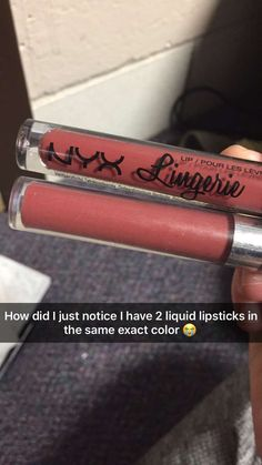 NYX Lip Lingerie in Exotic is an exact dupe for Colourpop's Frick n Frack liquid lipstick!!