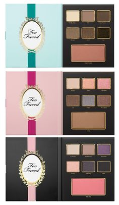 Too Faced Christmas in Paris for Holiday 2015 | Too Faced Le Grand Chateau Limited Edition Christmas Collection $49