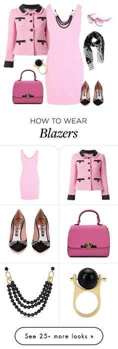 """""""outfit 4080"""" by natalyag on Polyvore featuring Moschino, Rochas, Dolce&Gabbana and Ice"""