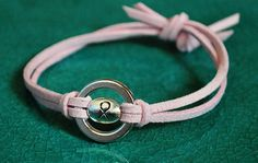 my #3....like this, but with a clasp. Breast Cancer Bracelet Cancer Support Bracelet by UniquelyByD