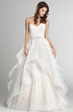 Courtesy of Alvina Valenta Wedding Dresses; Wedding dress idea.