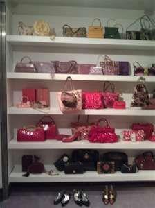 I would need a purse closet