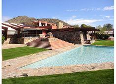Frank Lloyd Wright house Arizona! Amazing :)